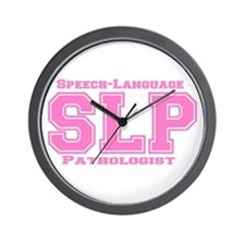 SLP (Pink) Wall Clock