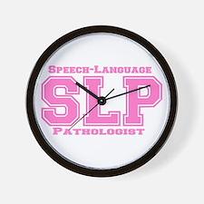 SLP (Pink) Wall Clock