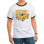 Ringer T Bitchin' Vintage Retro Van