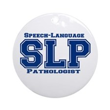 SLP (Blue) Ornament (Round)