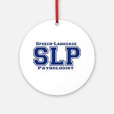 SLP (Blue) Ornament (Round)