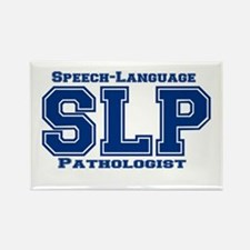 SLP (Blue) Rectangle Magnet