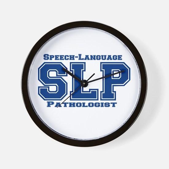 SLP (Blue) Wall Clock