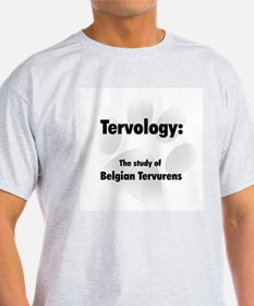 Tervology Ash Grey T-Shirt