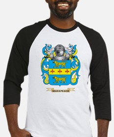 Makepeace Coat of Arms - Family Crest Baseball Jer