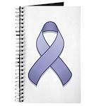 Periwinkle Awareness Ribbon Journal