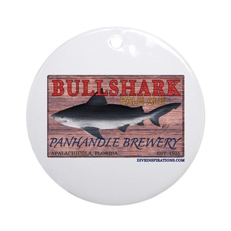 Bull Shark Pale Ale Ornament (Round)