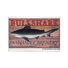 Bull Shark Pale Ale Rectangle Magnet