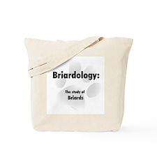 Briardology Tote Bag