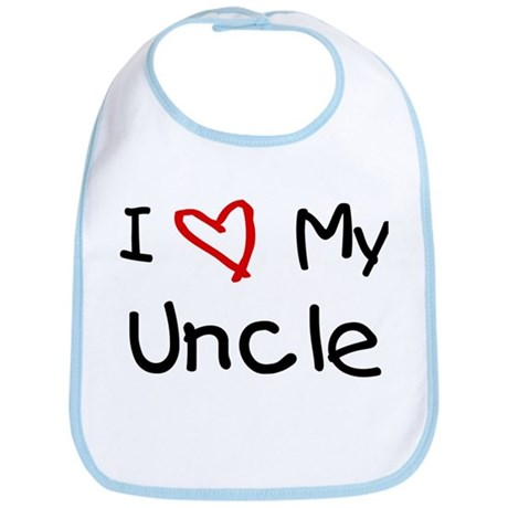 I Love My Uncle Bib By Hipfamily