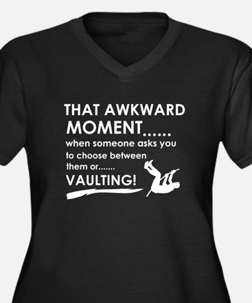 Awkward moment vaulting designs Women's Plus Size