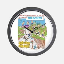 THE SCOUTS Wall Clock