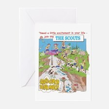 THE SCOUTS Greeting Cards (Pk of 10)