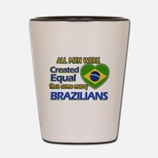 Brazilian wife designs Shot Glass