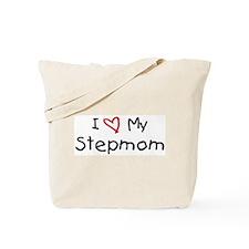 I Love My Stepmom Tote Bag