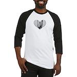 Heart Bassoon Baseball Jersey