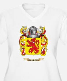 Mallory Coat of Arms - Family Crest Plus Size T-Sh