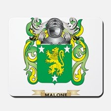 Malone Coat of Arms - Family Crest Mousepad