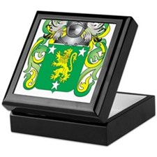 Malone Coat of Arms - Family Crest Keepsake Box