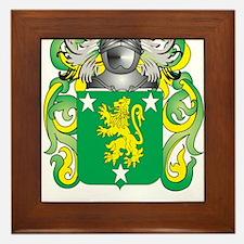 Malone Coat of Arms - Family Crest Framed Tile