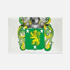 Malone Coat of Arms - Family Crest Rectangle Magne