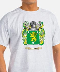 Malone Coat of Arms - Family Crest T-Shirt