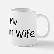 I Love My Pregnant Wife Mug