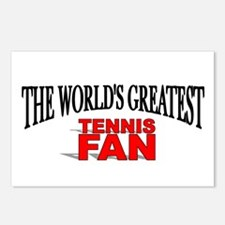 """The World's Greatest Tennis Fan"" Postcards (Packa"