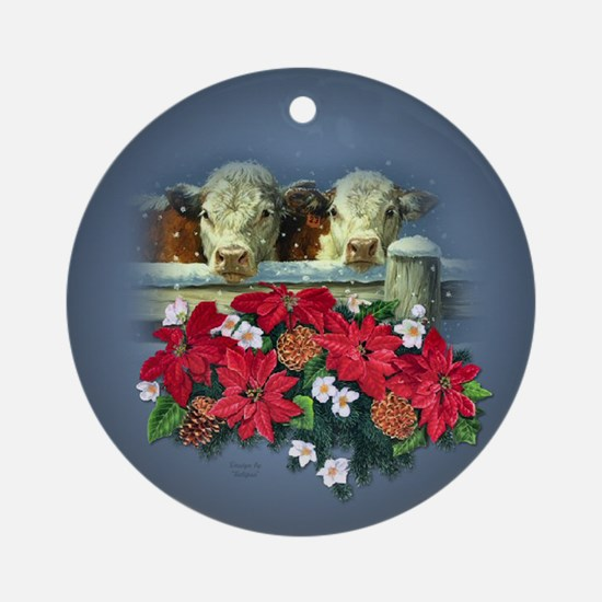 Herefords Keepsake/ Ornament (Round)