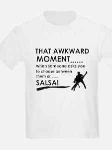 Awkward moment salsa designs T-Shirt