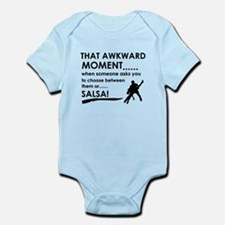 Awkward moment salsa designs Infant Bodysuit