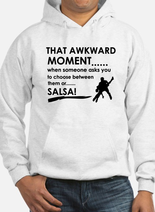 Awkward moment salsa designs Jumper Hoody