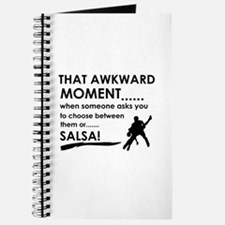 Awkward moment salsa designs Journal