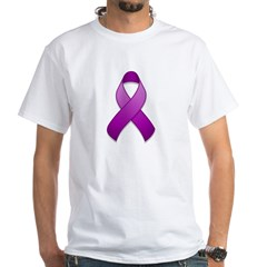 Purple Awareness Ribbon Shirt