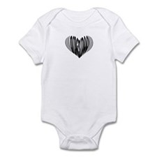 Didgeridoo Heart Infant Bodysuit