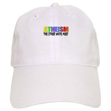 Atheism, the other white meat Baseball Cap