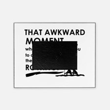 Awkward moment rowing designs Picture Frame