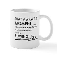 Awkward moment rowing designs Small Mug