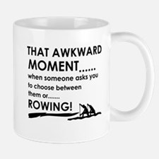 Awkward moment rowing designs Small Small Mug
