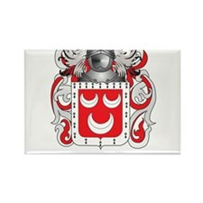 Mannin Coat of Arms - Family Crest Rectangle Magne