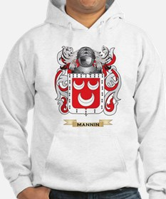 Mannin Coat of Arms - Family Crest Hoodie