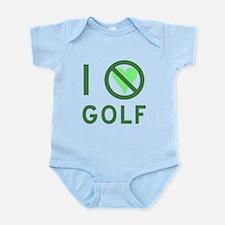 I Hate Golf Infant Bodysuit