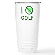 I Hate Golf Travel Mug