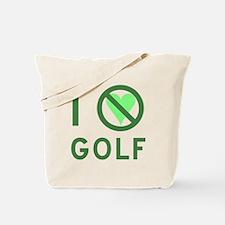 I Hate Golf Tote Bag