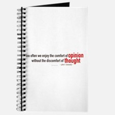 John F. Kennedy Quote Journal