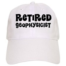 Retired Geophysicist Baseball Baseball Cap