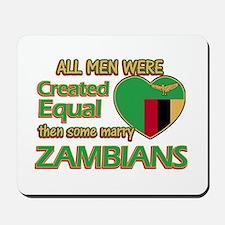 Zambian wife designs Mousepad