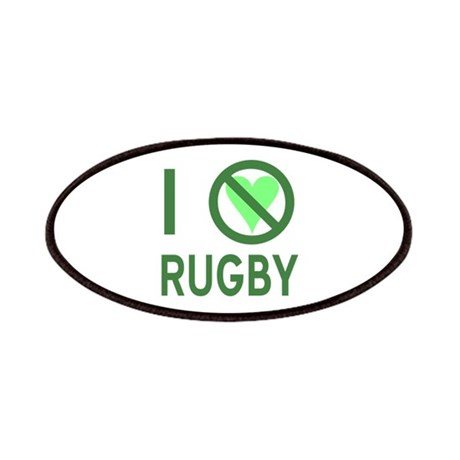 I Hate Rugby Patches