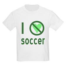 I Hate Soccer T-Shirt