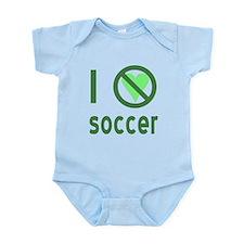 I Hate Soccer Infant Bodysuit
